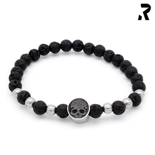 Totenkopf Armband Blackbeard