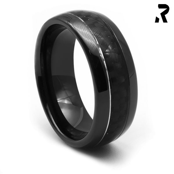 CARBON RING BLACK SHADOW